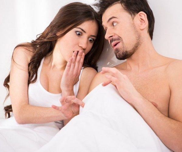 во время секса член становится мягким